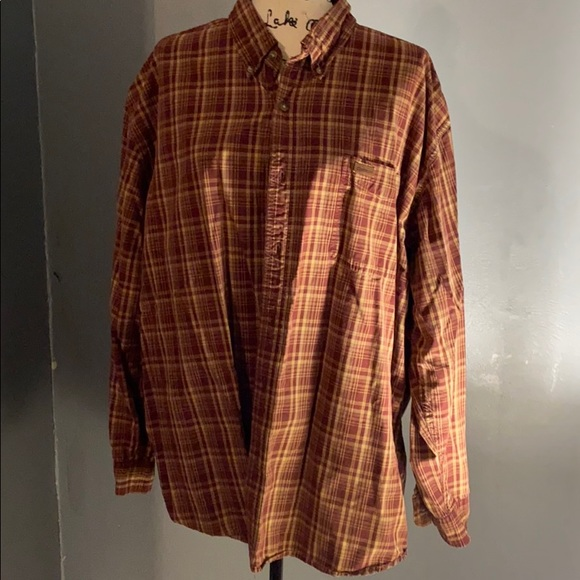 Men's 2x carhartt long sleeve shirt